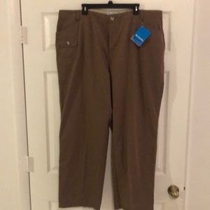 NWT! Women's Columbia 22W Mocha Omnishade Pants